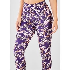 Fabletics high waisted printed legging full length
